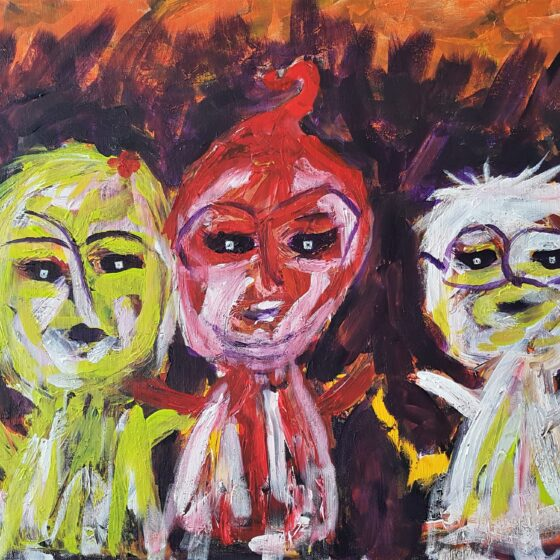 Best Friends 60x80 cm